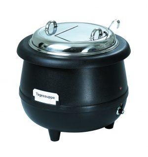 Bartcher Soeppan Gourmet 10 L - Zwart
