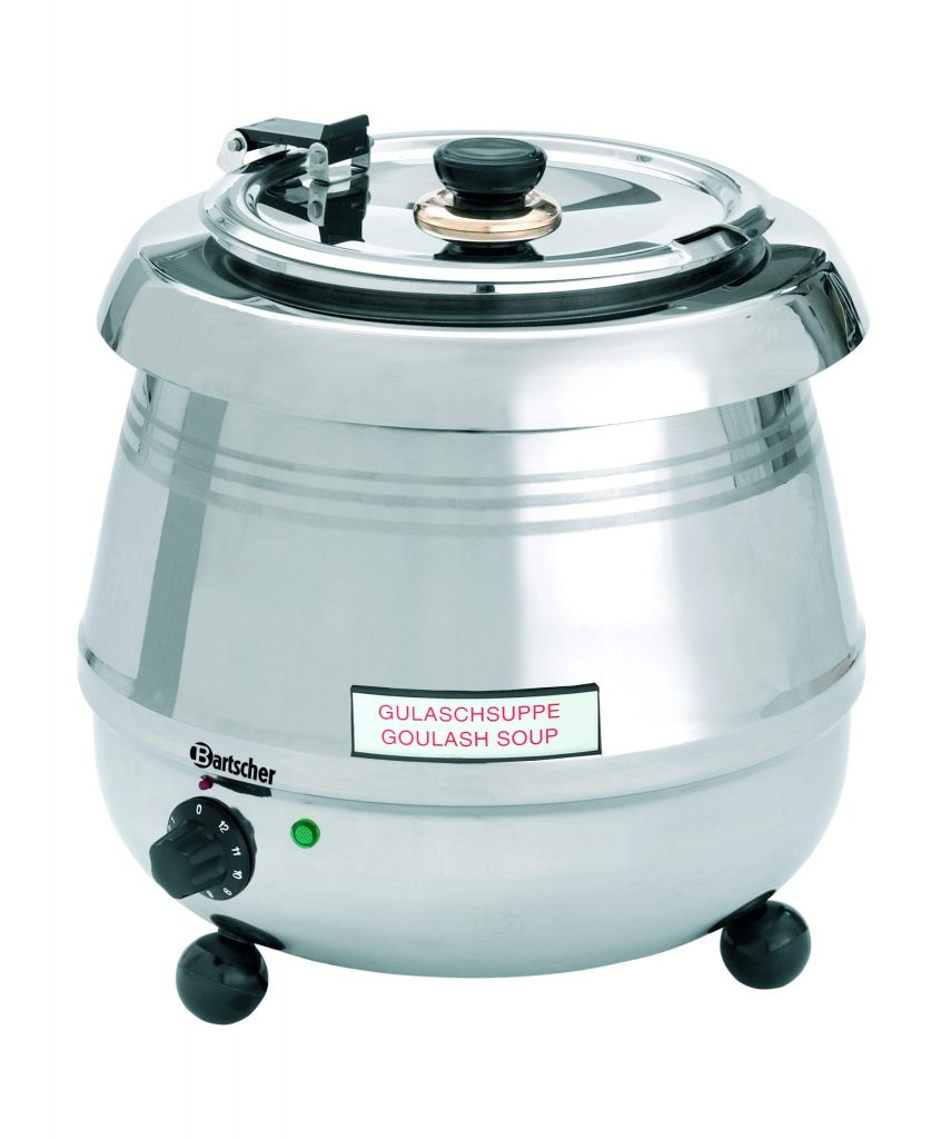 Bartcher Soeppan De Luxe CNS 9 L - Zilver