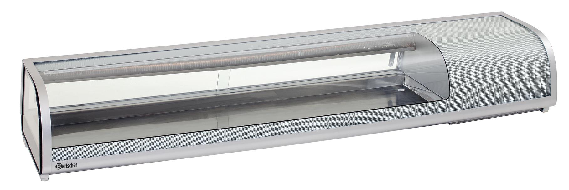 Bartscher Koelopzetvitrine Sushi 5x 1/2GN - 180 cm