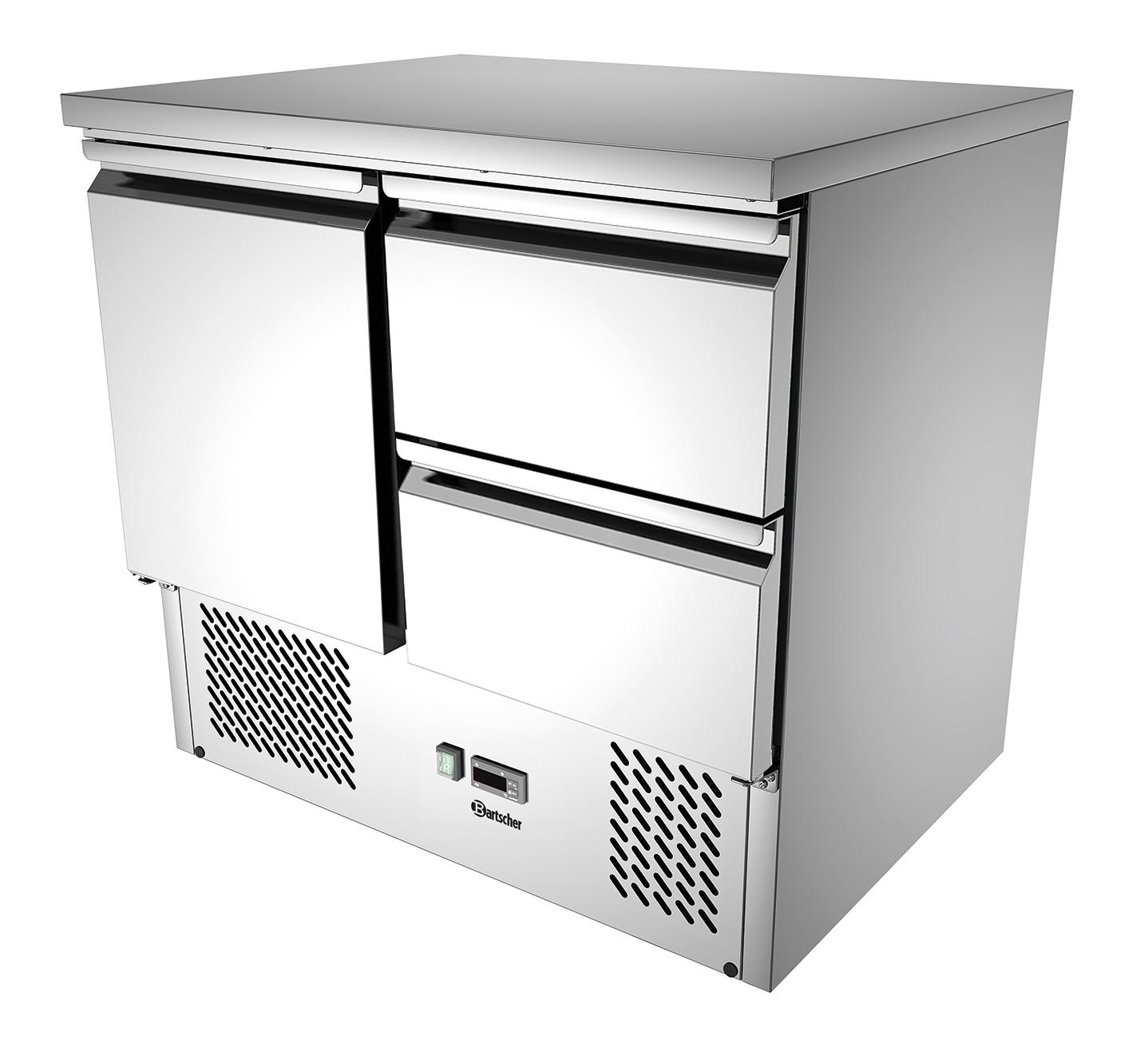 Bartscher Mini-koelwerkbank 900T1 S2 - 260 liter
