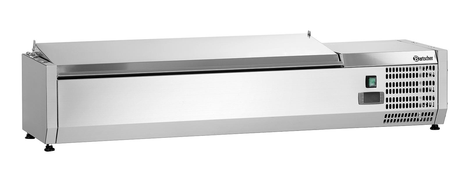 Bartscher Koelopzetvitrine ED 5x 1/4GN - 120 cm