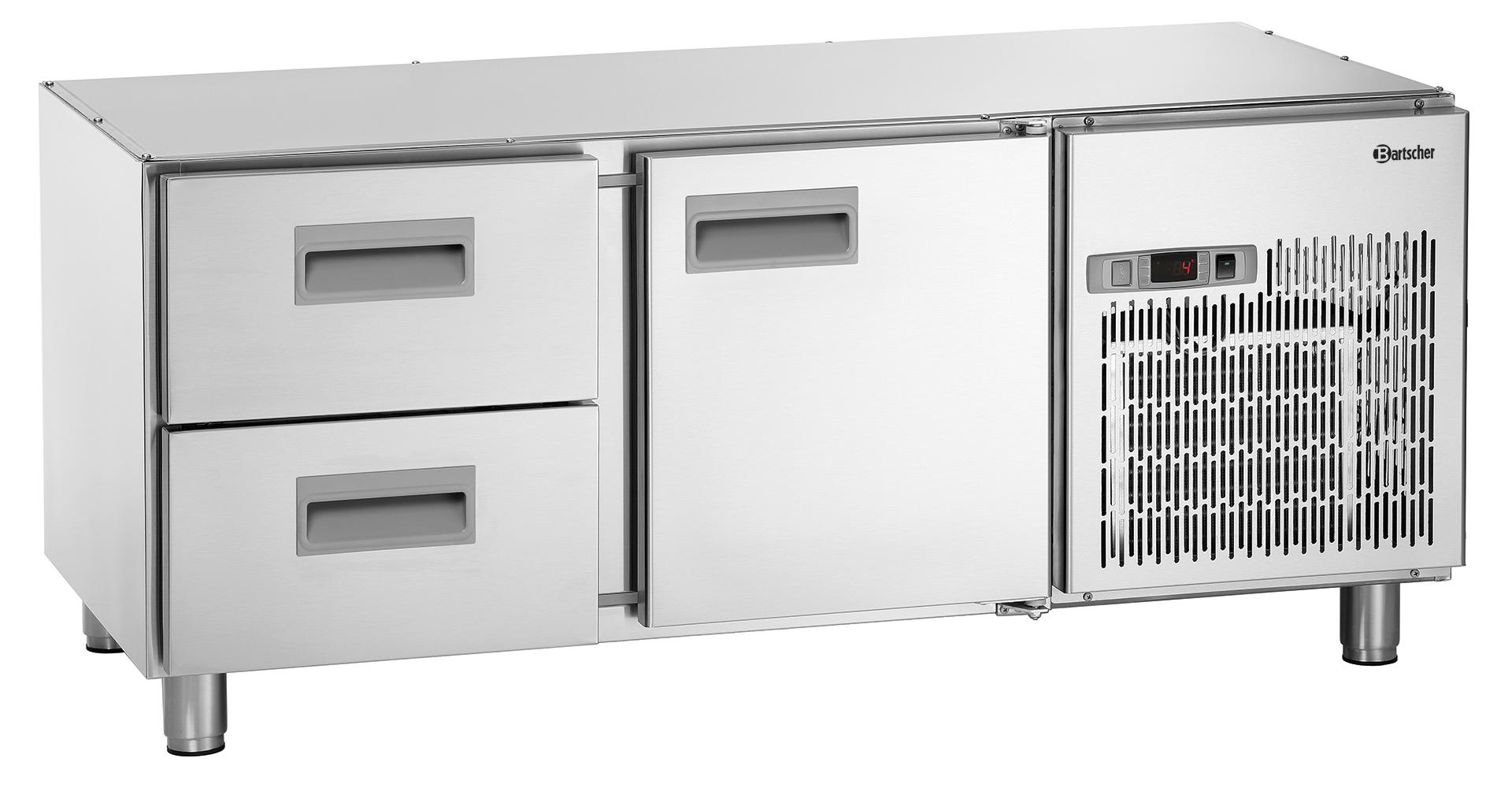 Bartscher Onderbouw-koelwerkbank 1400T1 S2 - 120 liter
