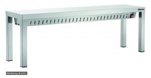 Bartcher Warmtebrug WBS1400 - 3 Infrarood lampen - 1400 mm