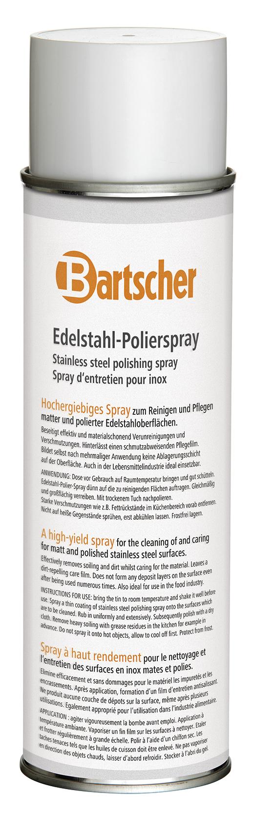 Bartscher Edelstaalpoleerspray 500ml DS - 12 st