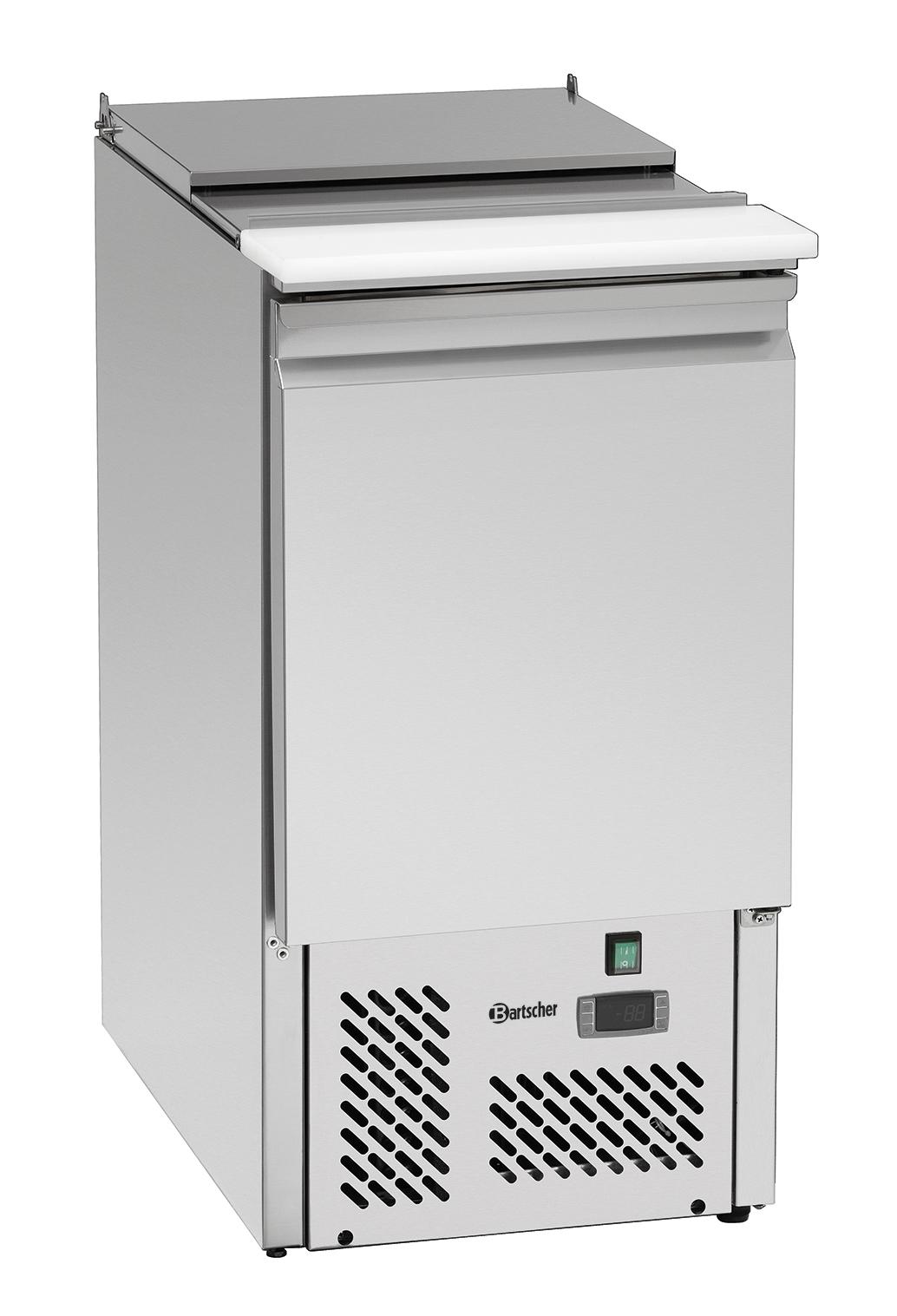 Bartscher Saladière 438T1 -1/1GN - 1DR - 140 liter - Zilver