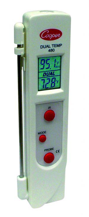 Bartscher Thermometer D2200 KTP-IF - infrarood & insteekvoeler