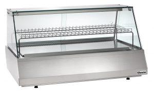 Bartscher Koelvitrine 3/1 GN - Recht - 165 liter - Zilver