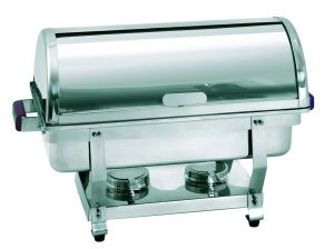 Bartcher Chafing Dish - 1/1GN, 65 mm diep - roldeksel
