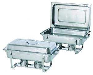 Bartcher Chafing Dish - 1/1GN, 65 mm diep - Twin Pack Set