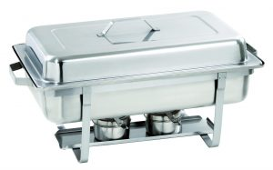 Bartcher Chafing Dish - 1/1GN, 100 mm diep