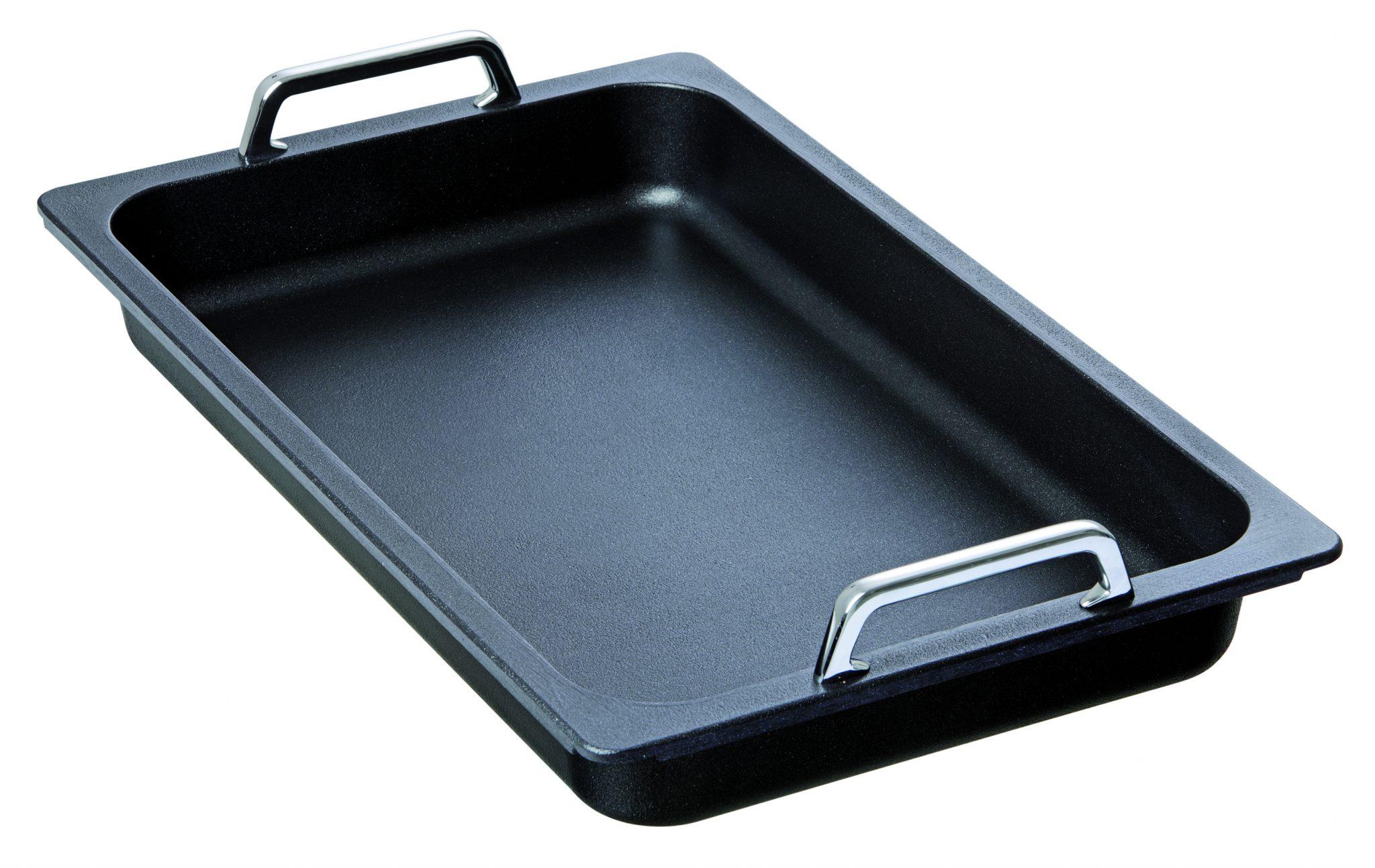 Bartcher GN-pan met greep - 1/1 GN - inductie