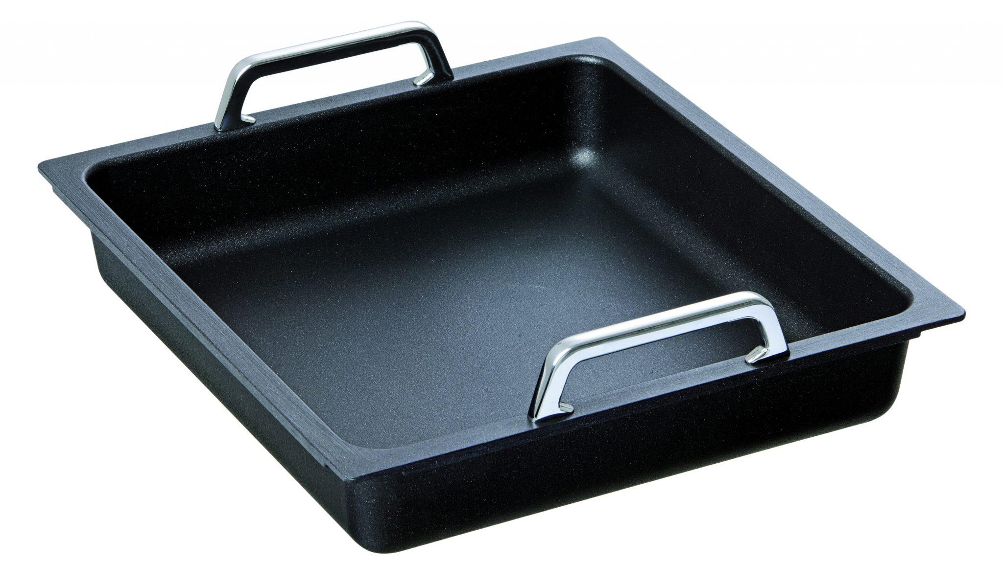 Bartcher GN-pan met greep - 2/3 GN - inductie