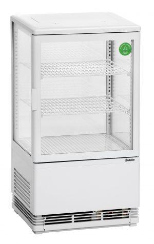 Bartscher Mini-koelvitrine - 58 liter - Wit
