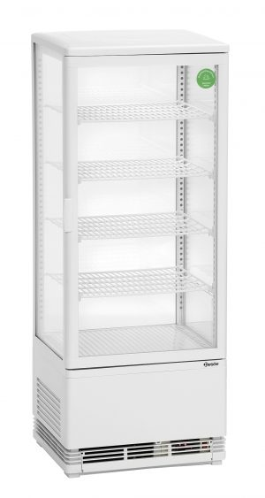 Bartscher Mini-koelvitrine - 98 liter - Wit