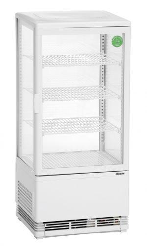 Bartscher Mini-koelvitrine - 78 liter - Wit