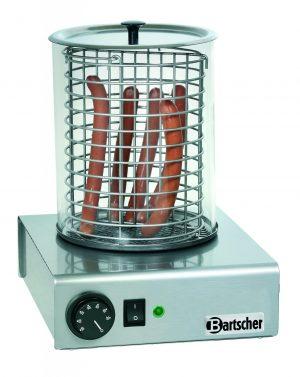 Bartcher Hotdog koker - ?195mm, H 245 mm, cilinder