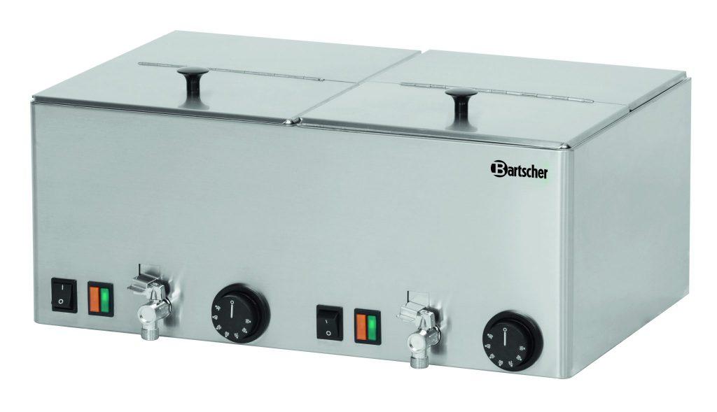 Bartcher Worstenwarmer 2KA20 - 2 bakken