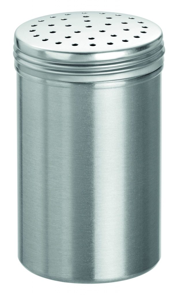 Bartscher Zoutstrooier 110 mm - Aluminium - 6 st